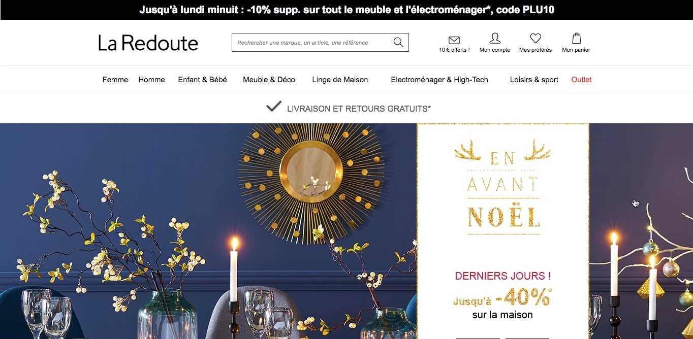 Verkopen via La Redoute in Frankrijk