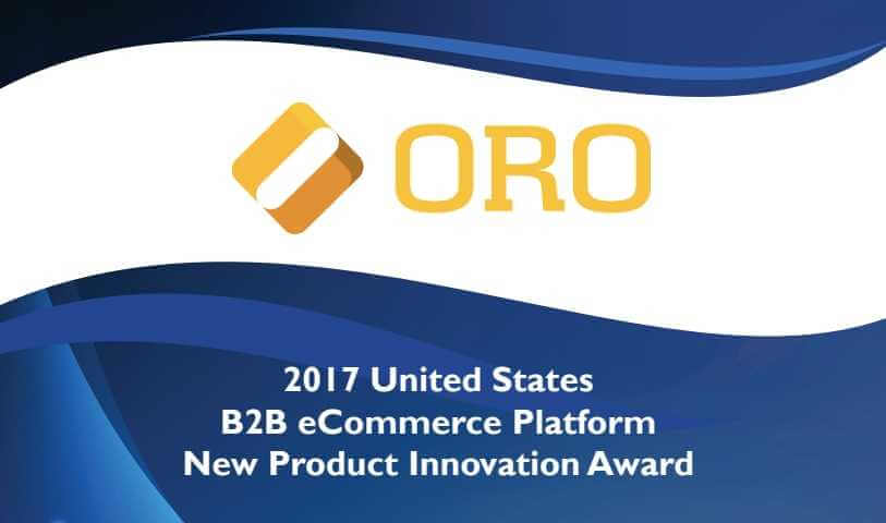 OroCommerce wint product innovation award