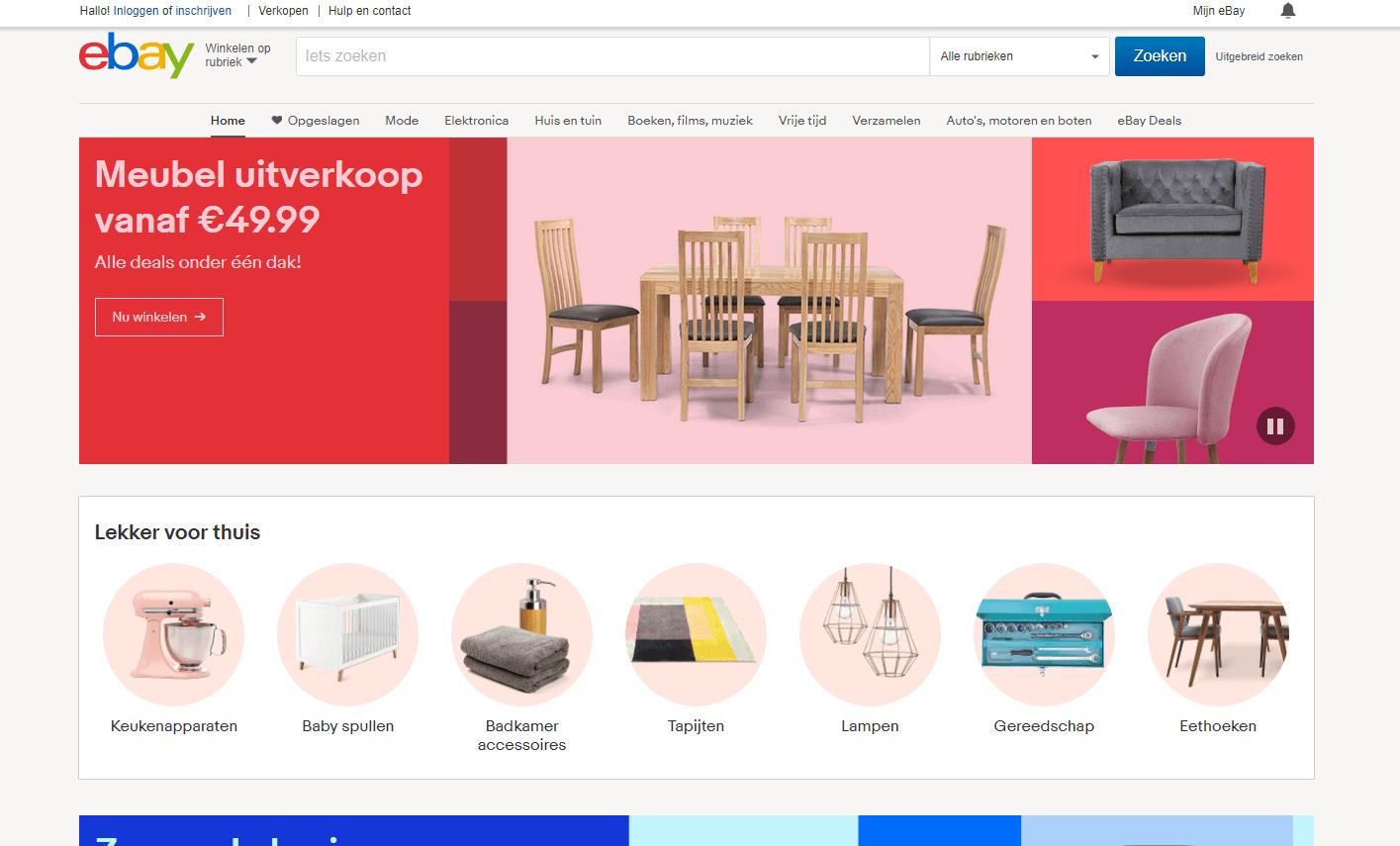 verkopen via ebay