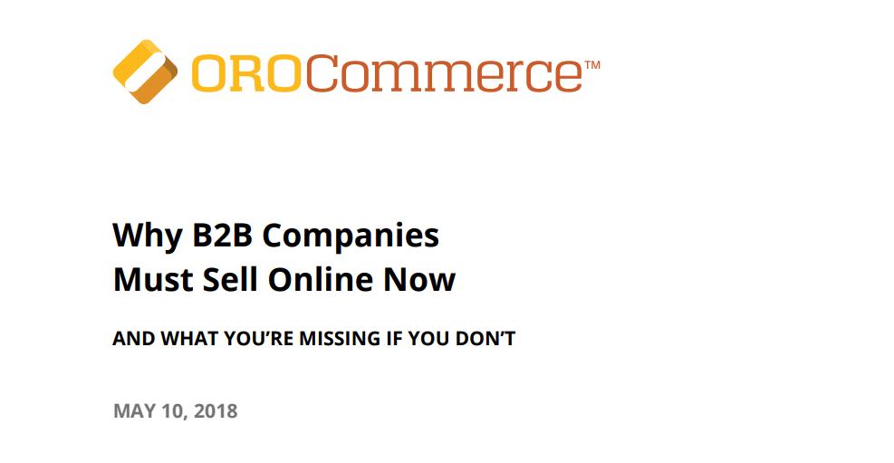 b2b organisaties online verkopen